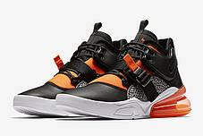 "Кроссовки Nike Air Force 270 Safari ""Orange"" (Оранжевые), фото 3"