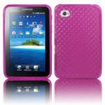 Резиновый чехол Samsung Galaxy Tab P1000 Red Diamond