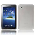 Резиновый чехол Samsung Galaxy Tab P1000 White