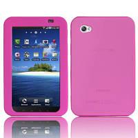 Силиконовый чехол для Samsung Galaxy Tab P1000 Pink