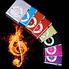 MP3 плеер алюминиевый Клипса + Наушники +USB переходник blue (синий), фото 4