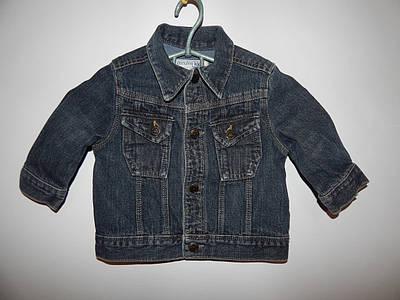 Куртка детская джинсовая Kids,на 12мес, 020д
