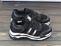 Женские кроссовки Lonza FLM831-3 BLACK 36 23 см, фото 1