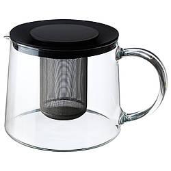 ✅ IKEA RIKLIG (901.500.71) Чайник, стекло
