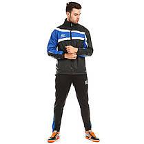 Куртка ветрозащитная Europaw TeamLine черно-синяя , фото 2