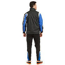 Куртка ветрозащитная Europaw TeamLine черно-синяя , фото 3