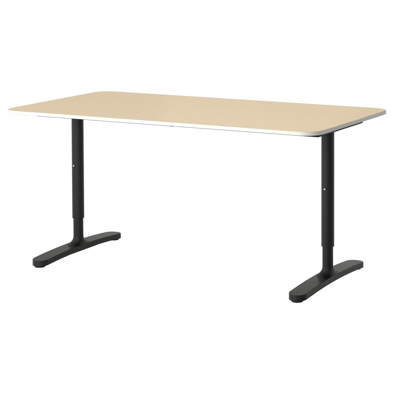Ikea Bekant 19022790 письменный стол белый в категории