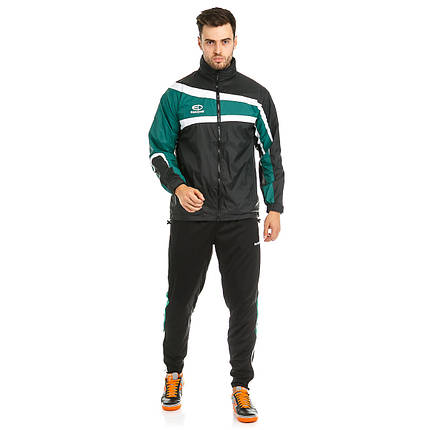 Куртка ветрозащитная Europaw TeamLine черно-зеленая, фото 2