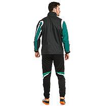 Куртка ветрозащитная Europaw TeamLine черно-зеленая, фото 3