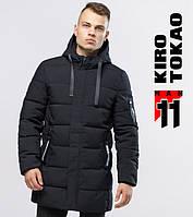 Зимняя куртка длинная мужская Kiro Tokao - 6007 черный, фото 1