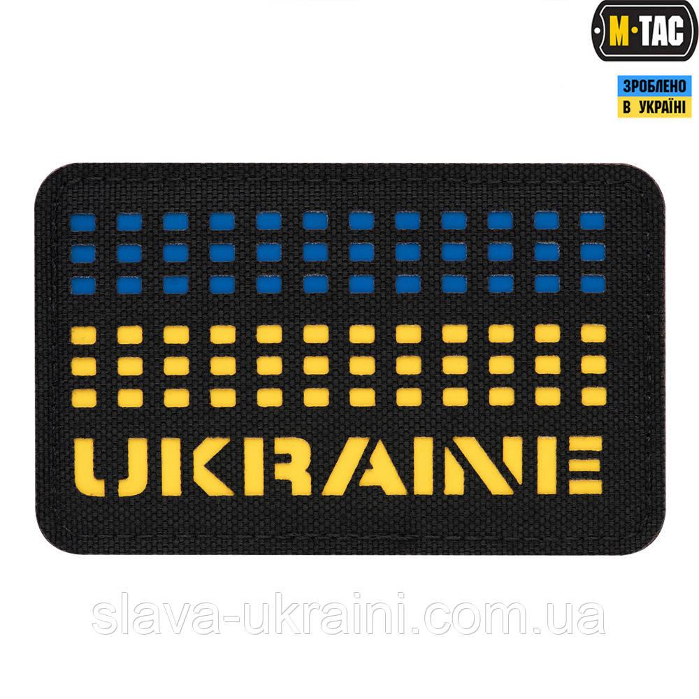 Нашивка M-Tac Ukraine Saser Yellow/Blue/Black
