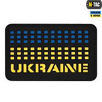 Нашивка M-Tac Ukraine Saser Yellow/Blue/Black, фото 1