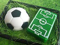 Набор сувенирного мыла футбольное поле и мяч