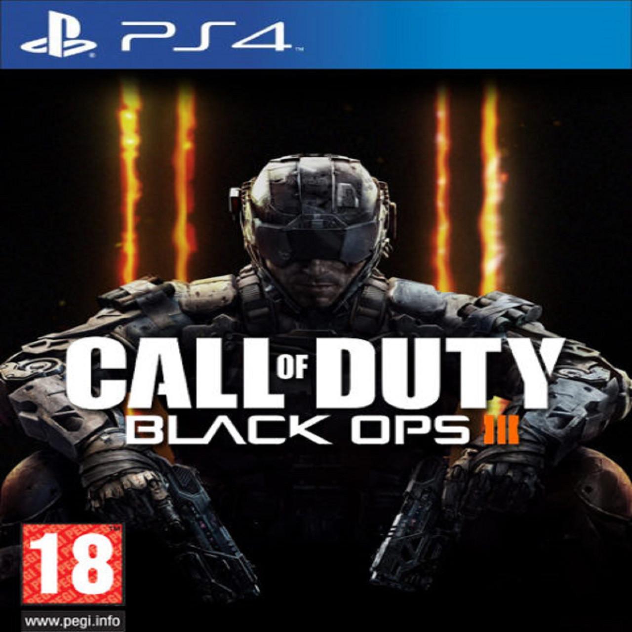 Call of Duty: Black Ops III (SteelBook) (английская версия) PS4 (Б/У)