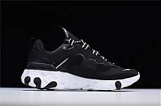 Кроссовки Nike React Element 87 Undercover Black (Черные), фото 2