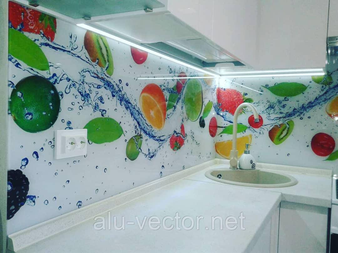 Стеновая панель фрукты