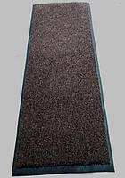 """Грязезащитный ковер """"Поляна"""" коричневый 90х200см, фото 1"""