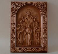 Икона Вера, Надежда, Любовь и мать их София (200х270х18), фото 1