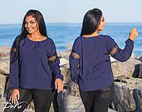 Блузка женская нарядная с 42 по 56 р.  /р15116, фото 1