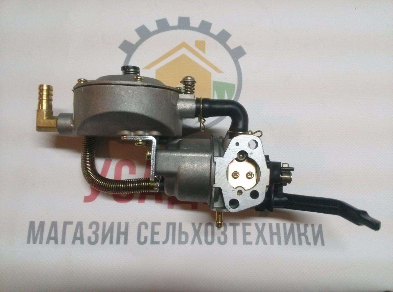 Карбюратор 168F газ/бензин генератор