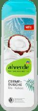 Гель для душа ALVERDE Cremedusche Bio-Kokos,