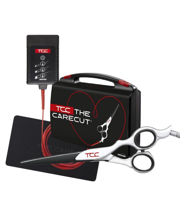 Профессиональные горячие парикмахерские ножницы  JAGUAR TCC THE CARECUT