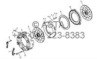 Сцепление в сборе (12-дюймовый) на YTO-X1204