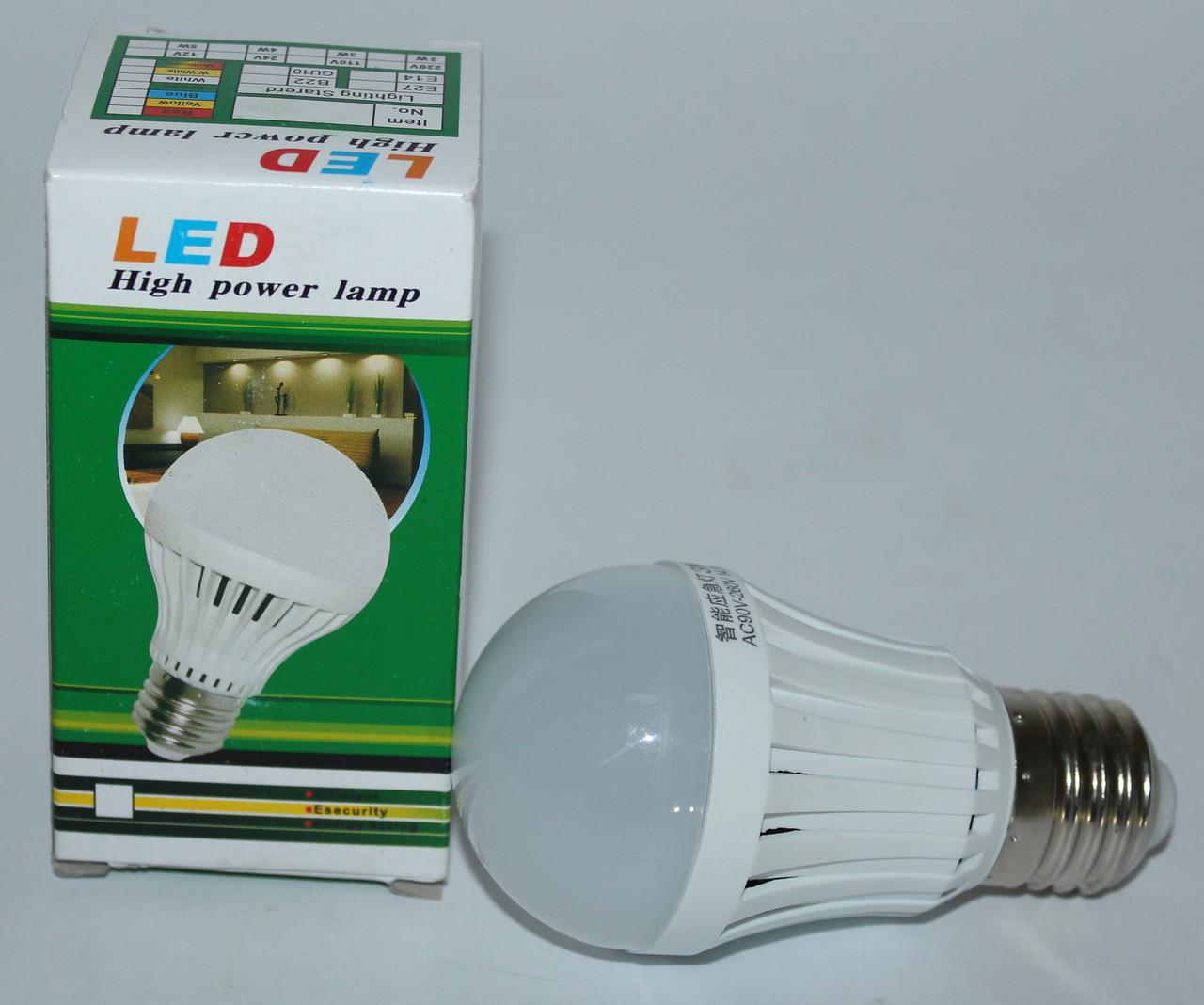 LED лампа з резервним живленням