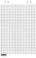 Блок бумаги для флипчарта 66х99см (20л.. 70гр./м2), в клетку, 2Х3