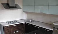 Кухня угловая на заказ фасады пленочный МДФ