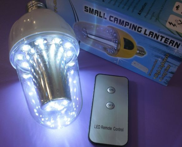 Светодиодная лампа с аккумулятором FY-007 на 15 LED диодов