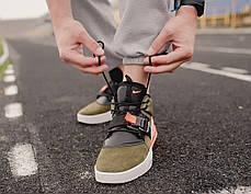 "Кроссовки Nike Air Force 270 Medium ""Olive"" (Зеленые), фото 2"