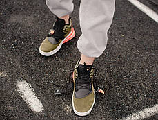 "Кроссовки Nike Air Force 270 Medium ""Olive"" (Зеленые), фото 3"