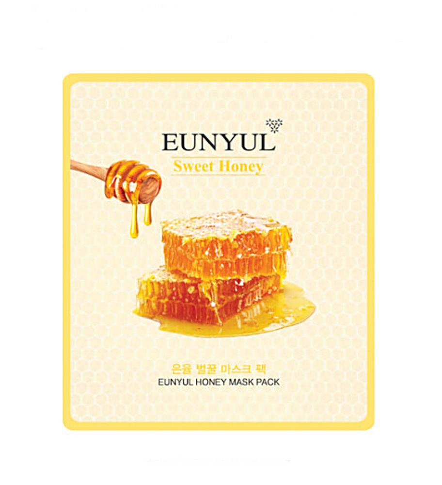 Тканевая маска питательная с медом для сухой кожи EUNYUL Honey Mask Pack - 30 мл