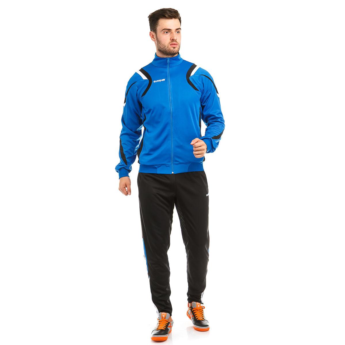 Костюм тренировочный Europaw SEL синий-черный