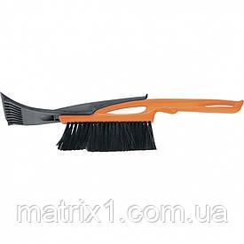 Щетка-сметка для снега со скребком, 415 мм SPARTA