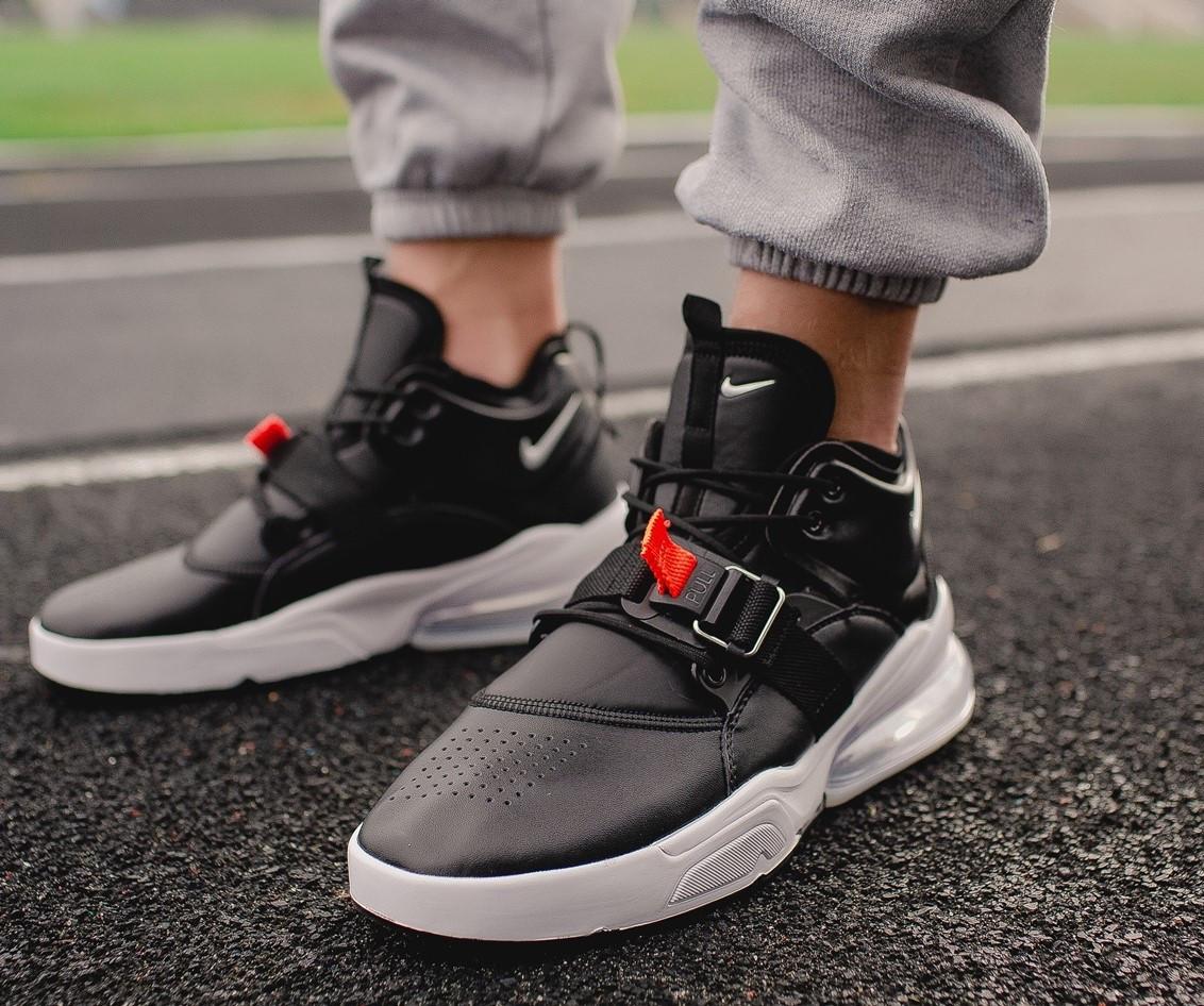 """Кроссовки Nike Air Force 270 """"Black/White"""" (Черные/Белые)"""