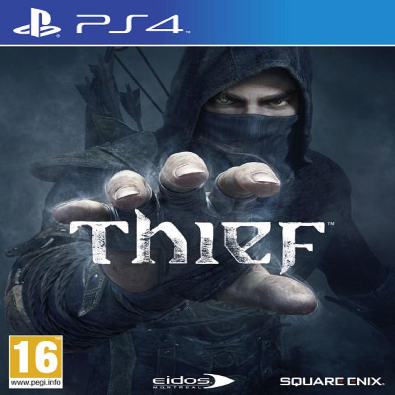 Thief (steelbook) (російська версія) PS4 (Б/В)