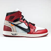 83186107 Кроссовки Nike Air Jordan 1 Retro High Off-White Chicago