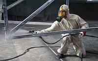 Огнезащитная обработка металлических, деревянных конструкций и тканей