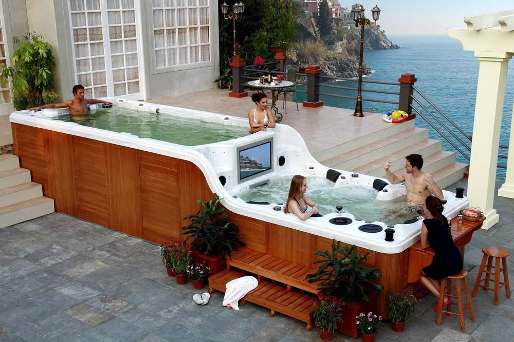 Бассейн Double Decker Monte Carlo