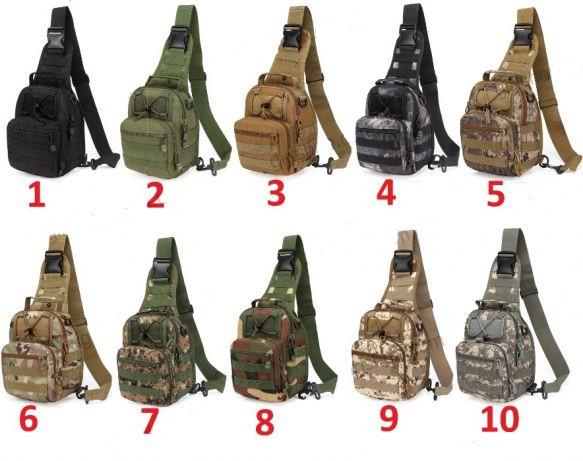 Універсальна тактична штурмова сумка-рюкзак, армійська сумка Oxford 600D