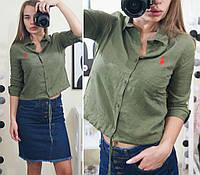 b8897edfd51 Женская рубашка однотонная в Украине. Сравнить цены