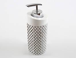 Дозатор для жидкого мыла wall ekru Irya