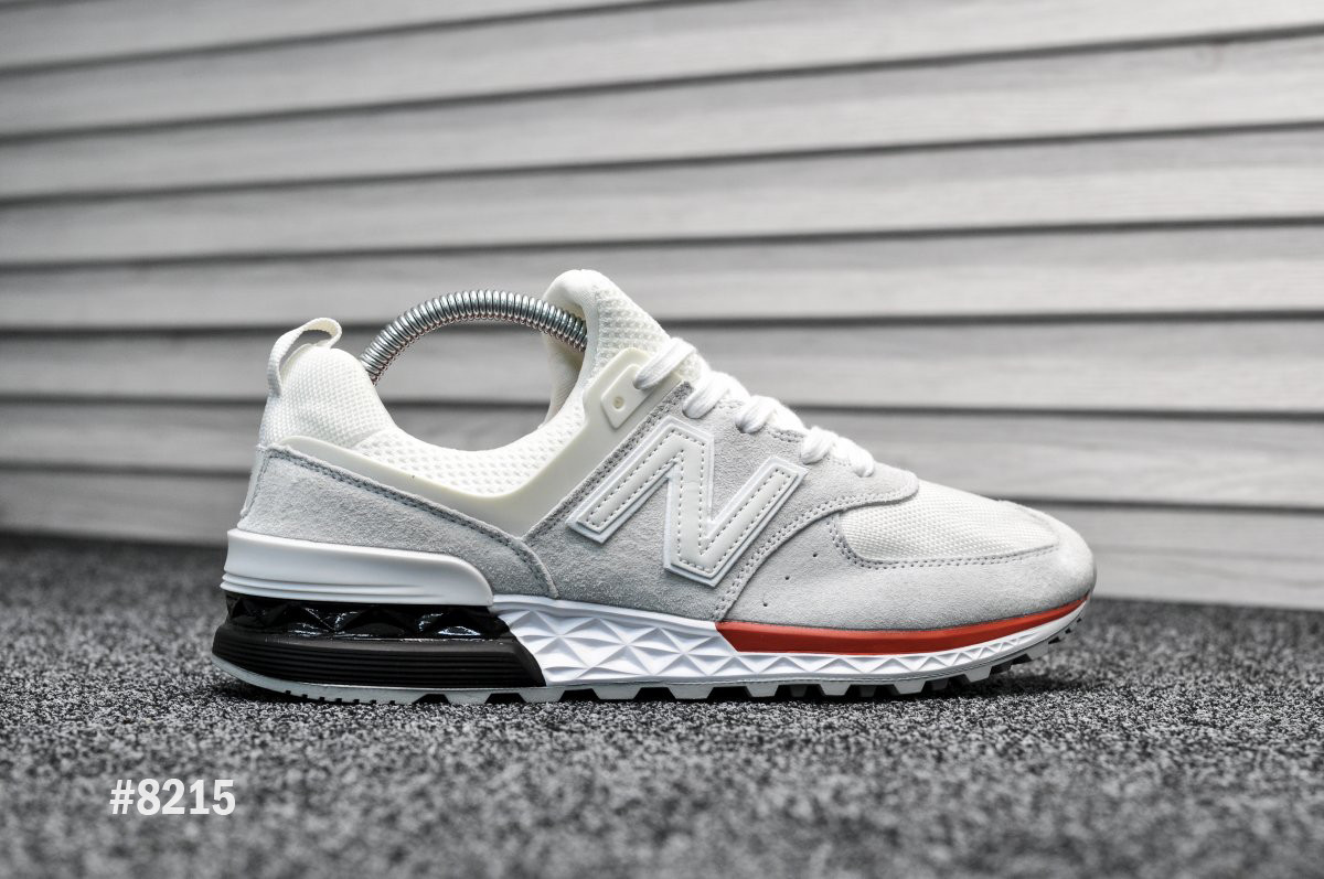 Мужские кроссовки New Balance 574 Sport Edition Gray / White, Реплика