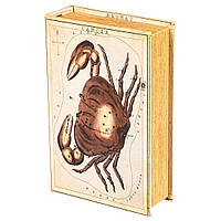 Книга-сейф Veronese Созвездие Рак 27х18х7 см 120U
