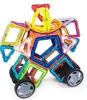 Магнитный конструктор Magnetic land Разноцветный 69 деталей (0012), фото 1