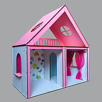 3103 Fana Будиночок Особняк Барбі 2 поверхи / 3 кімнати + шпалери + штори