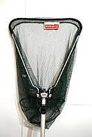 Подсак BratFishing треугольный складной, ручка телескопическая, Ø 40 см, фото 1