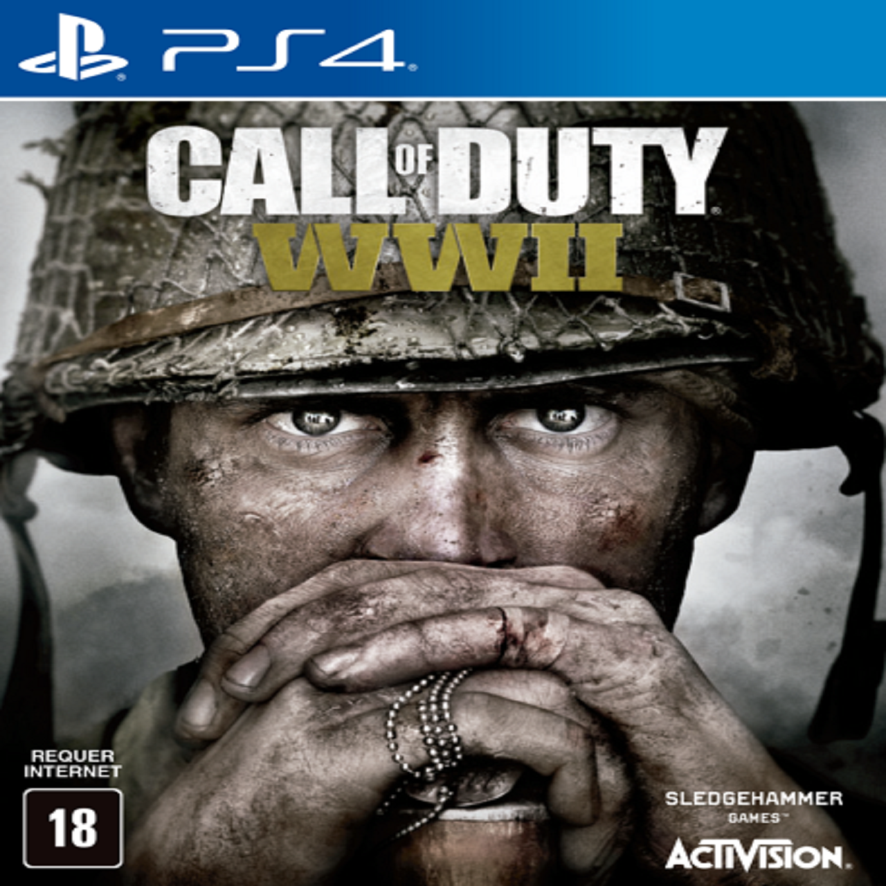 Call of Duty WWII ENG PS4 (Б/В)